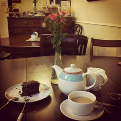 Photo taken at Grayz Tea Room by Adina N. on 3/2/2013