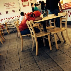 Photo taken at Five Guys by Felice S. on 4/26/2014