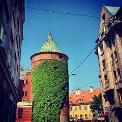 Photo taken at Pulvertornis | Powder Tower | Пороховая башня by Stas C. on 6/6/2013