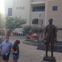 Photo taken at Kyle Field Zone Plaza by Anne G. on 8/10/2014