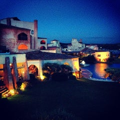 Photo taken at Hotel Cala di Volpe, Costa Smeralda by Sylwina on 10/13/2013
