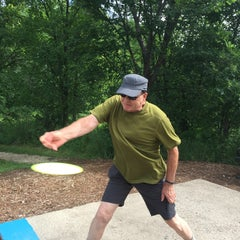 Photo taken at Bryant Lake Disc Golf Course by Joan F. on 7/17/2015