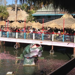 Photo taken at Hula Hut by Tricia B. on 3/12/2013