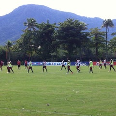 Photo taken at Ninho do Urubu (CT do Flamengo) by Falando de Flamengo on 5/1/2014
