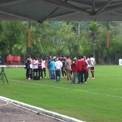 Photo taken at Ninho do Urubu (CT do Flamengo) by Falando de Flamengo on 5/9/2014