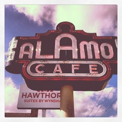Photo taken at Alamo Cafe by Candy W. on 10/20/2012
