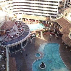 Photo taken at Tuscany Tower @ Peppermill by Kelly W. on 2/13/2015