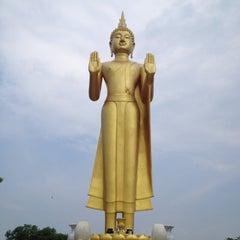 Photo taken at วัดเขาพุทธโคดม (Wat Khao Phutthakhodom) by Takorn B. on 4/20/2013