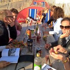 Photo taken at Strandpaviljoen Willy Zuid by JW on 8/28/2015