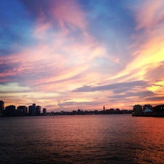 Photo taken at Hudson River Park by Laura S. on 6/18/2013