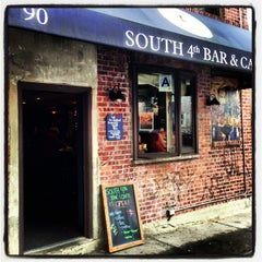 Photo taken at South 4th Bar & Cafe by Kimberly on 2/12/2013