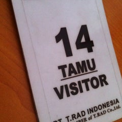 Photo taken at T-RAD Indonesia by Muh H. on 8/19/2013