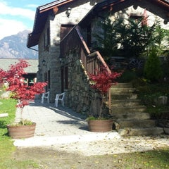 Photo taken at Mazzo di Valtellina by Anna V. on 10/26/2013