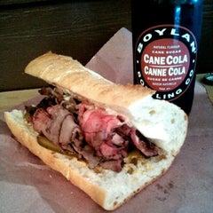 Photo taken at Big Lou's Butcher Shop by Johnny V. on 2/15/2013