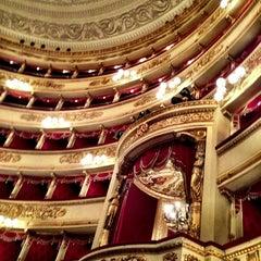 Photo taken at Teatro alla Scala by Anna S. on 3/9/2013