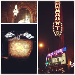 Photo taken at Paramount Theatre by Jenn H. on 11/1/2012