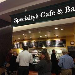 Photo taken at Specialty's Café & Bakery by Jenn H. on 11/8/2012