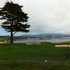 Photo taken at Pebble Beach Golf Links by Jake G. on 8/17/2012