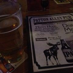 Photo taken at Patton Alley Pub by Karina D. on 2/16/2012