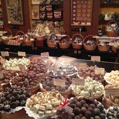 Photo taken at Львівська майстерня шоколаду / Lviv Handmade Chocolate by Yury F. on 4/27/2013