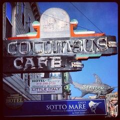 Photo taken at Columbus Cafe by Hans v. on 6/9/2013