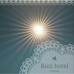 Photo taken at Kozi Hotels by Gloria L. on 9/18/2014