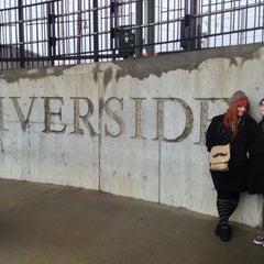 Photo taken at MBTA Riverside Station by Sera C. on 1/12/2013