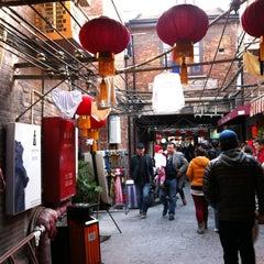 Photo taken at 田子坊 | Tian Zi Fang by Paul L. on 12/9/2012