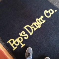 Photo taken at Pop's Diner Co. by Nicholi W. on 11/18/2012