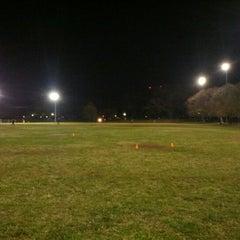 Photo taken at Patterson Park Kickball by Brad B. on 11/16/2012