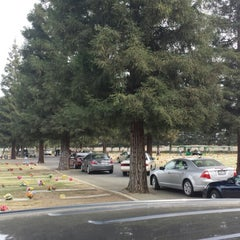 Photo taken at Clovis Cemetary by TROY CLIFFORD H. on 11/18/2013