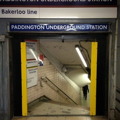 Photo taken at Paddington London Underground Station (District, Circle and Bakerloo lines) by Ben W. on 3/19/2013