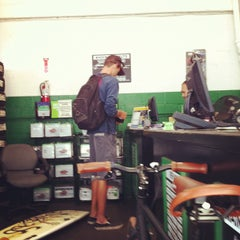 Photo taken at Pacific Coast Tire and Service by Matt D. on 10/30/2012