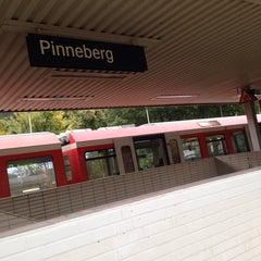 Photo taken at Bahnhof Pinneberg by Fatma U. on 10/12/2013