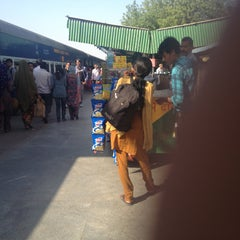 Photo taken at Gurgaon Railway Station (GGN) by Divjot S. on 4/17/2013