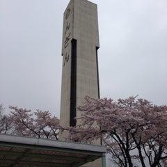 Photo taken at 環八井の頭交差点 by DMC  Krauser Ⅲ. on 4/4/2015
