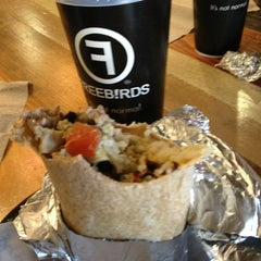 Photo taken at Freebirds World Burrito by Pete L. on 1/4/2013
