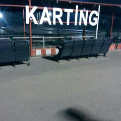 Photo taken at Aqualand karting by Can Ahmet D. on 12/24/2015