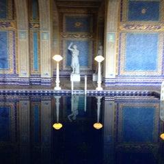 Photo taken at Hearst Castle Roman Pool by Chris E. on 2/15/2014