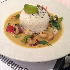 Photo taken at Wagamama by Ahmad Y. on 12/16/2013