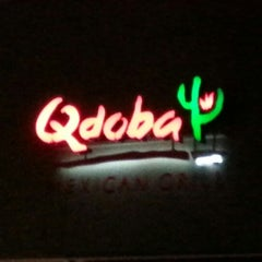 Photo taken at Qdoba Mexican Grill by Alex M. on 12/28/2012