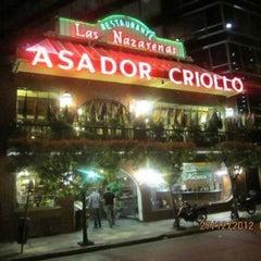Photo taken at Las Nazarenas Asador Criollo by gonza B. on 4/10/2013