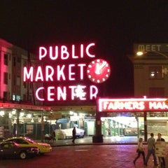 Photo taken at Pike Place Market by Andrew R. on 6/8/2013