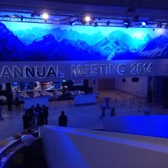 Photo taken at World Economic Forum (WEF) by Andrew R. on 1/21/2014