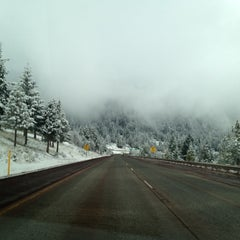 Photo taken at Siskiyou Summit by Christy A. on 12/12/2012