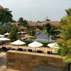 Photo taken at Angkor Miracle Resort & Spa by ishimishi i. on 5/3/2015