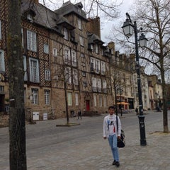 Photo taken at Place des Lices by Paboo S. on 9/20/2015