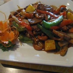 Photo taken at Chaba Thai Cuisine by Chaba Thai Cuisine on 10/7/2013