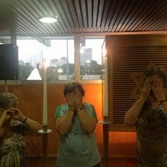 Photo taken at Sinagoga da Hebraica by Jose Luiz G. on 2/8/2013
