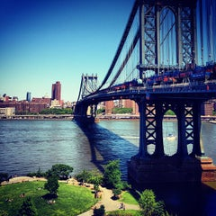 Photo taken at Manhattan Bridge by Nick L. on 5/27/2013